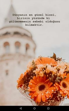 Spring Tutorial and Ideas Text Quotes, Book Quotes, Learn Turkish Language, Love Moves, Happy New Year Wallpaper, Good Sentences, My Philosophy, Muslim Quotes, Dont Love