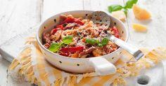 Recette de Gratin de légumes à l'emmental léger. Facile et rapide à réaliser, goûteuse et diététique. Ingrédients, préparation et recettes associées.
