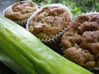 zucchini oat muffins - gluten free