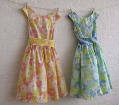 Vintage inspired dresses by sohomode.