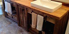 http://jimmybarnwood.store/ Stunning idea for bathroom vanity