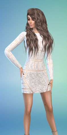 How to Sims: Kylie Jenner Inspired dress