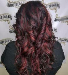 Red Hair   #bootleggersbeautysalon #burlingtonncsalon #comeseeus #getyourshineon #joicosalon #haircolorideas #hairtrending #hairinspiration   #redhaircolor #beautifulhair