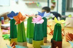 Origami Cactus Origami Shapes, Cactus, Concept, Joy, Creative, Design, Glee, Being Happy