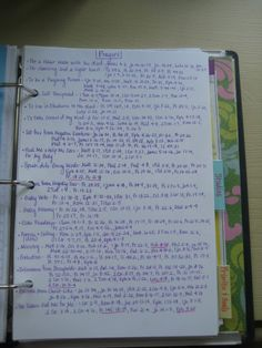 My Prayer Notebook (Part 2) - The Healthy Happy Woman