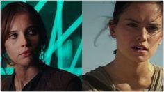 'Star Wars': Daisy Ridley habla sobre la teoría que señala a Jyn Erso (Felicity Jones) como la madre de Rey