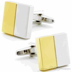 Yellow Butter Cufflinks by Cufflinksman #Cufflinks #Fashion #Jewelry #shopping