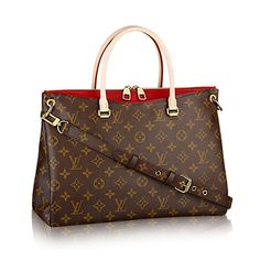 65e72f999828 Discover Louis Vuitton Pallas  The Pallas is so much more than a chic bag.  It s an alluring fusion of Monogram canvas