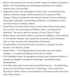 where to find your favorite Potter places. One day, one day, one day *crosses fingers*