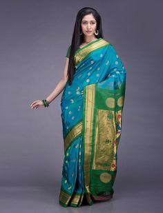 Swati Paithani Silk Saree