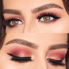 Hazel eyes are incredibly beautiful but that does not mean that you should not know the ways to enhance that natural beauty of yours! Do not thank us! #makeup #makeuplover #eyemakeup #hazeleyes