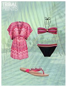 Channel the catwalks this season #Summer #Prints #BikiniGuide