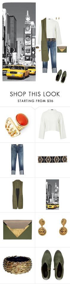 """Untitled #271"" by ccoss ❤ liked on Polyvore featuring Diane Von Furstenberg, Topshop, Current/Elliott, Cocobelle, Dareen Hakim, Chanel and Jigsaw"