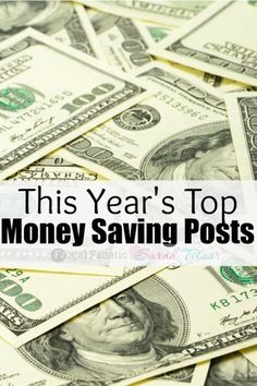 Top 10 Money Saving Posts of This Year
