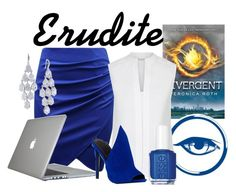"""Erudite"" by xfandomsneverdie ❤ liked on Polyvore featuring Speck, Hobbs, Kendall + Kylie, Essie and Carolee"