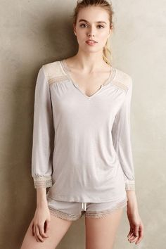 Eberjey Manuela Sleep Shirt - anthropologie.com
