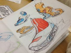 some more sketches by Jonathan Langer, via Behance