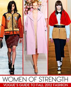 Those looks are chic, individual women new ways of dressing.