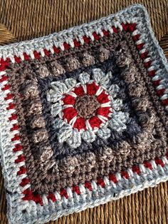 Ravelry: chitweed's Crochet Dahlia Square Pattern*