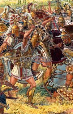 Battle of Ampheia IGOR DZIS BATTLE PAINTING