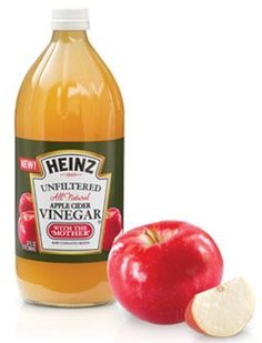 I love using apple cider vinegar as a post-shampoo hair rinse! It ups shine and helps keep winter dandruff (gross, but we all get it!) at bay.