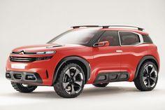 Dévoilé au Salon de Shanghai, le 20avril, ce concept-car préfigure le prochain SUV familial de la marque au double chevron.