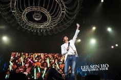 Actor Lee Min Ho Wraps Up Chinese Leg Of Global Tour With A Concert In Shanghai : News : KpopStarz