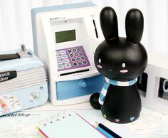 Black Rabbit Coin Bank