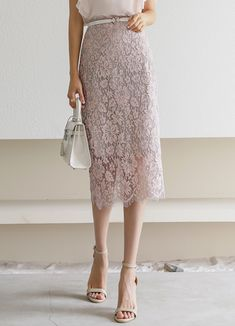 Styleonme_Wedding Guest Floral Lace Pencil Midi Skirt . . #styleonme_global #fashion #instagood #picoftheday #photooftheday #style #ootd #mixandmatch #shopping #instadaily #instafashion #selfie #fashionstagram #kstyle #kfashion #koreanlook #koreandaily #koreanfashion #kbeauty #followme #like4like #dailylook #styleonme #classy #koreanfashion #fashionkorea #ontrend #newarrivals #transitionalclothing #kdramafashion #ss21 #laceskirt #pencilskirt #midiskirt #pinkskirt Lace Skirt, Midi Skirt, Sequin Skirt, Korean Look, Korea Fashion, Korean Women, Daily Look, Floral Lace, Like4like