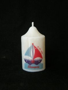 Birthday/Baptism/ Favour Candle Boat C Nautical Set  Gastgeschenkkerze Geburtstagskerze Taufkerze Nautische-Maritime-DesignBoot C-Maritime Birthday Party Favors, Birthday Candles, Birthday Parties, Personalized Candles, Handmade Candles, Paraffin Candles, Scented Candles, Crystal Snowflakes, Candle Favors