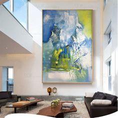 "Grande toile abstraite marron beige photo SPLIT MULTI 4 PANNEAU set Mur Art 40 /"""