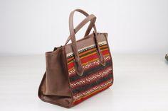 Vintage Kilim Bag Women Tote Bag Woman HandBag di TheOrientBazaar, $285.00