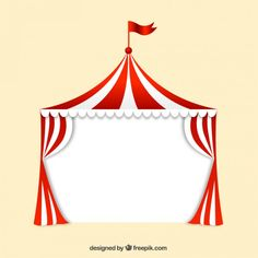 Circus Tent Vectors, Photos and PSD files Circus Party Decorations, Circus Theme Party, Carnival Birthday Parties, Carnival Themes, Circus Birthday, Party Themes, Ideas Party, Carnaval Vintage, Cirque Vintage