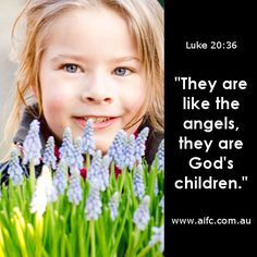 God's children.