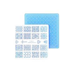 Nail Stamping Plates Nail Art Stamp Template Image Plate Nails DIY Tool Acrylic Stamp Wedding Theme Set 01-04