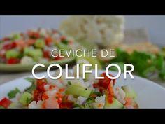 Ceviche de coliflor (saludable y vegetariano)
