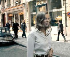 Romy Schneider, Paris, 1972