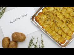 Baked potato slices are the perfect side dish for any meal. Upgrade your weeknight menu by putting this unexpected potato side on the table. It comes together in just 30 minutes. Baked Potato Slices, Easy Baked Potato, Sliced Potatoes, Vegan Gluten Free, Vegan Vegetarian, Potato Sides, Side Dishes, Martha Stewart