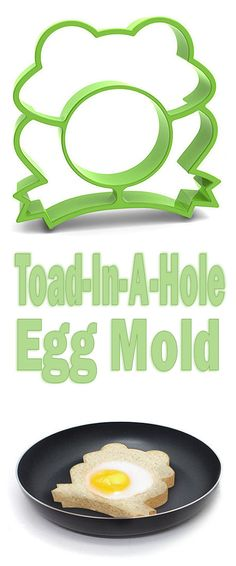 Frog Toast & Egg Mold