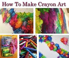 How To Make Crayon Art