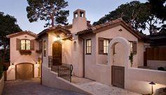 colores de fachadas de casas sencillas rusticas - Buscar con Google