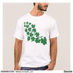 SHAMROCKS - tee st patricks day decorations, st patricks day crafts, st patricks day,   st patrick's day ideas, st. patrick's day theme, st. patrick's day activities, t shirts #saint #saintpatricksday #stpatricksday #design #trend #saintpatricksday2018 #patricks #greenday #stpatricksday2018 #style #StPatricksFest #SaintPatricksDay #saint #shamrock #StPatricksDayShirt #tshirt #tshirts #womentshirts #hoodie #hoodies #jacket #menswear #menwithstreetstyle