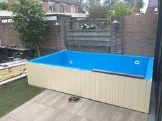 De zomer is begonnen met dit zwembad voor meer info Kijk op www.gjfolietechniek.nl