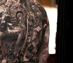 Realistic Religious Tattoo by Niki Norberg | Tattoo No. 13603