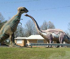 Dinosaur Land in Virginia's Shenandoah Valley