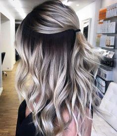 Gray Hair Balayage Technik | Beauty Tips & Makeup Guides# - Geniusbeauty