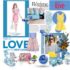 """:) romantic summer"" by gabryrain on Polyvore"
