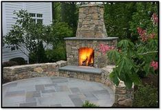 hardscape covered patio with fireplace - Google Search