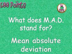 Mean Absolute Deviation Interactive Knockout Game Math Test Games, 7th Grade Math, Review Games, Class Activities, Word Problems, Middle School, Teaching, Whiteboard Games, Test Prep