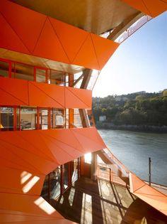 The Orange Cube, Lyon  Jakob + Macfarlane Architects